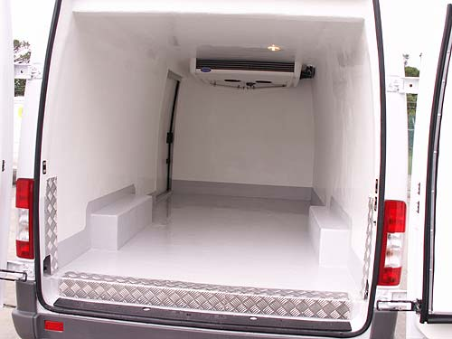 6ce2ca19c0 Refrigerated Transport Hire - Refrigerated Vehicles - 1 Tonne Van